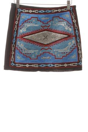 Zara Trafaluc Minirock abstraktes Muster Street-Fashion-Look