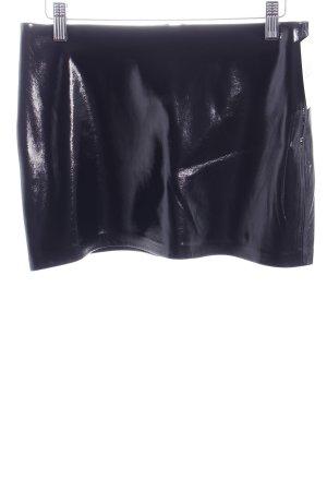 Zara Trafaluc Minirock schwarz extravaganter Stil
