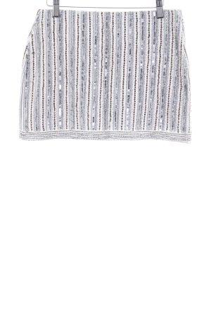 Zara Trafaluc Minirock Streifenmuster extravaganter Stil