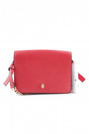 Zara Trafaluc Mini Bag bright red business style