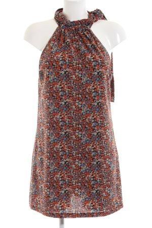Zara Trafaluc Neckholderkleid Blumenmuster Casual-Look