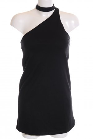 Zara Trafaluc One-Shoulder-Kleid schwarz Elegant