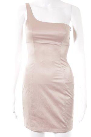 Zara Trafaluc One-Shoulder-Kleid altrosa Elegant