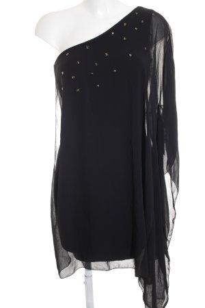 Zara Trafaluc One Shoulder Dress black elegant