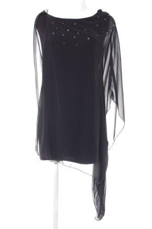 Zara Trafaluc One-Shoulder-Kleid schwarz schlichter Stil