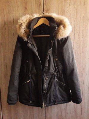 Zara Trafaluc Outerwear Winter Jacke Parka khaki Gr. S