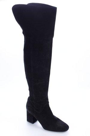 Zara Trafaluc Overknees schwarz Eleganz-Look