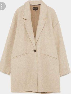 Zara Trafaluc Oversized Jacket light grey