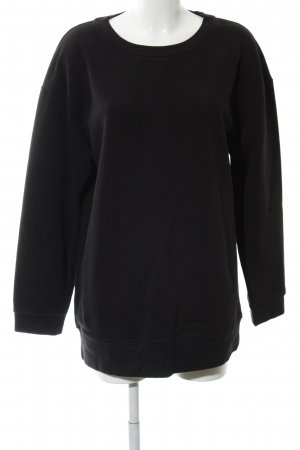 Zara Trafaluc Oversized Pullover schwarz Casual-Look