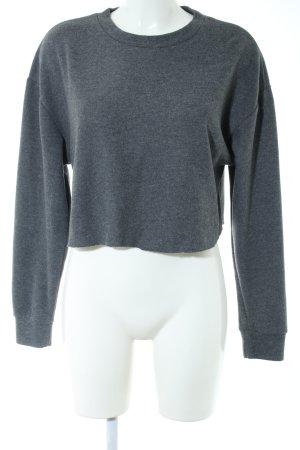 Zara Trafaluc Maglione oversize grigio chiaro puntinato stile casual