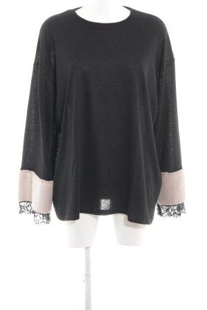 Zara Trafaluc Oversized trui zwart casual uitstraling