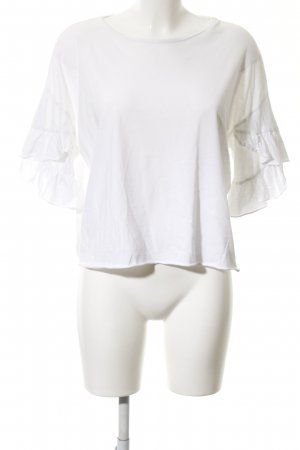 Zara Trafaluc Oversized shirt wit casual uitstraling
