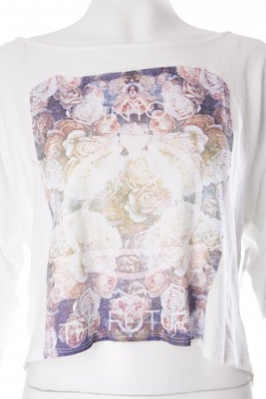 Zara Trafaluc Print-Shirt florales Muster