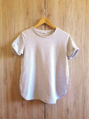Zara Trafaluc Camisa larga gris claro-gris