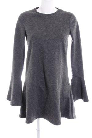 Zara Trafaluc Sweater Dress dark grey casual look