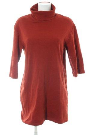 Zara Trafaluc Pulloverkleid rostrot Casual-Look