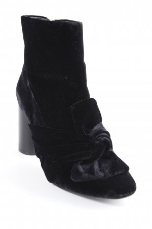 Zara Trafaluc Reißverschluss-Stiefeletten schwarz Elegant