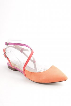 Zara Trafaluc Riemchen-Sandalen Colourblocking Street-Fashion-Look