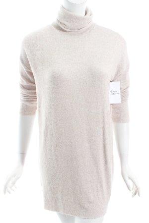 Zara Trafaluc Rollkragenpullover beige Casual-Look