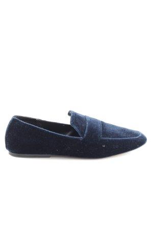 Zara Trafaluc Zuecos azul estilo «business»