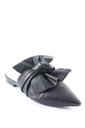 Zara Trafaluc Klompen zwart elegant