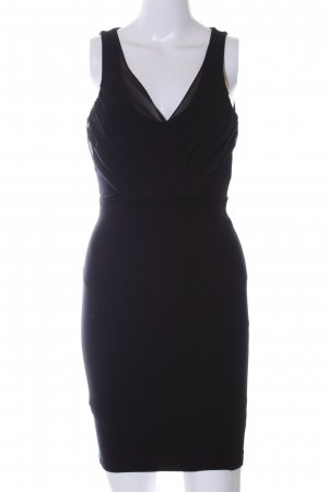 Zara Trafaluc Tube Dress black business style