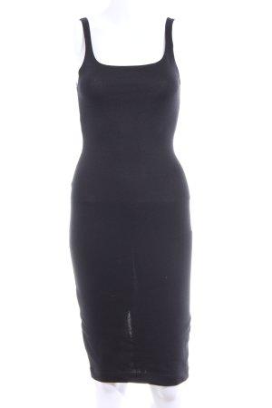 Zara Trafaluc Vestido de tubo negro look casual