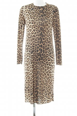 Zara Trafaluc Tube Dress animal pattern extravagant style