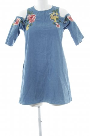Zara Trafaluc Off the shoulder jurk bloemenprint casual uitstraling