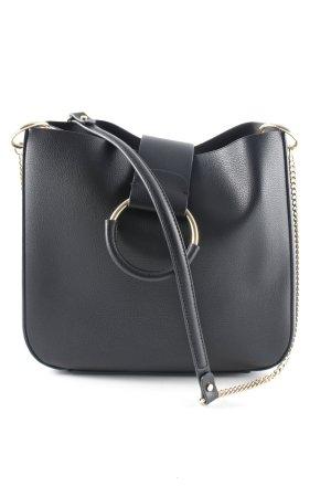 Zara Trafaluc Borsa a tracolla nero-color carne stile minimalista