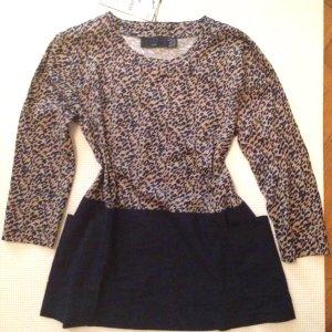 Zara Trafaluc Shirt Bluse Leo Gr. 34