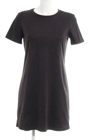 Zara Trafaluc Shirtkleid anthrazit Business-Look