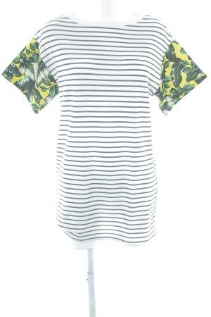 Zara Trafaluc Robe t-shirt motif floral style d'affaires