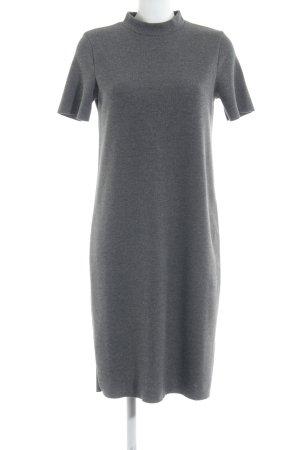 Zara Trafaluc Shirtkleid grau Streifenmuster Casual-Look