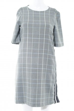 Zara Trafaluc Vestido estilo camisa estampado de pata de gallo estilo sencillo