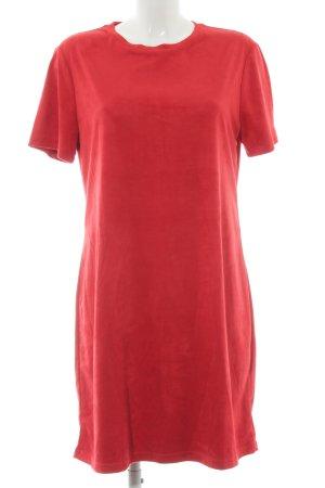 Zara Trafaluc Shirtkleid rot Business-Look