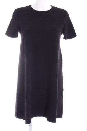 Zara Trafaluc Vestido estilo camisa negro look casual