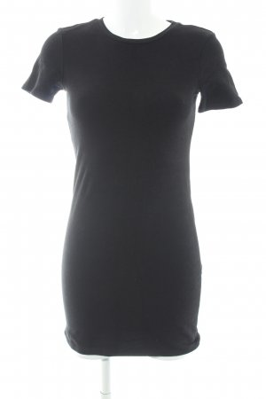Zara Trafaluc Shirtkleid schwarz Casual-Look