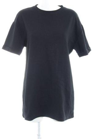 Zara Trafaluc Shirtkleid schwarz Casual-Look