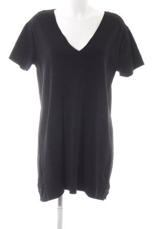 Zara Trafaluc Robe t-shirt noir style simple