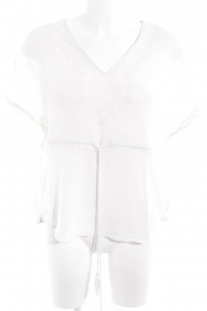 Zara Trafaluc Shirt Tunic natural white beach look