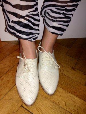 ZARA trafaluc shoes, NEU, 37, creme-farben