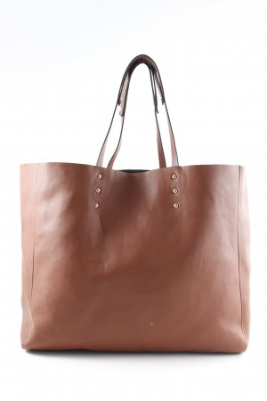 Zara Trafaluc Shopper goldfarben-braun Casual-Look
