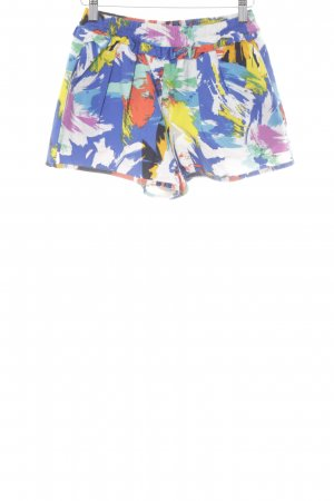 Zara Trafaluc Shorts abstract print beach look