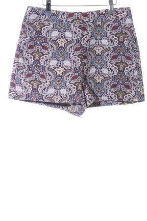 Zara Trafaluc Shorts abstraktes Muster Casual-Look