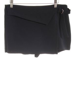 Zara Trafaluc Shorts dunkelblau Elegant