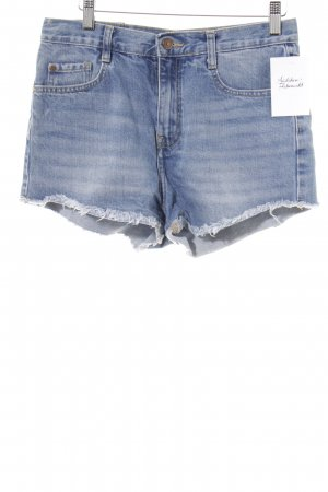 Zara Trafaluc Shorts kornblumenblau Casual-Look
