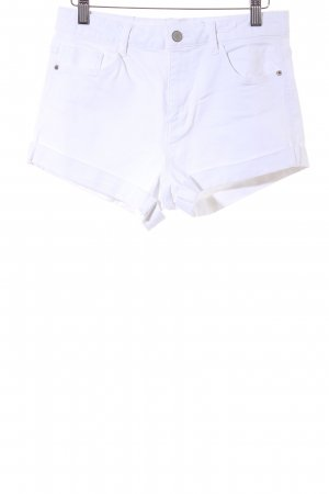 Zara Trafaluc Shorts white casual look