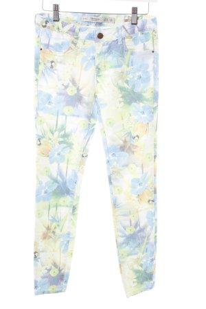 Zara Trafaluc Skinny Jeans abstraktes Muster Casual-Look