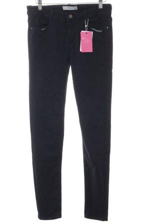 Zara Trafaluc Skinny Jeans dunkelblau Casual-Look
